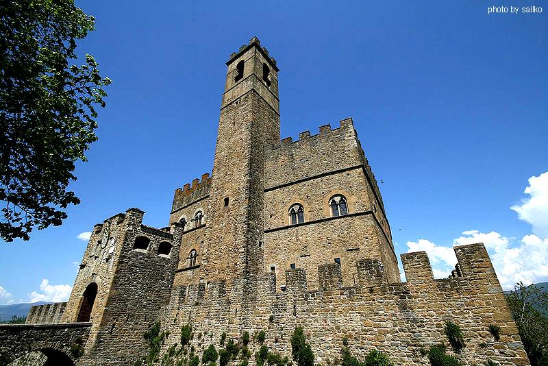Castello dei Conti Guidi a Poppi
